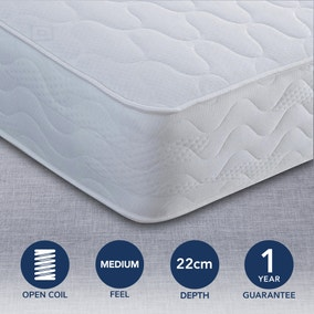 Tuscany Medium Coil Sprung Mattress