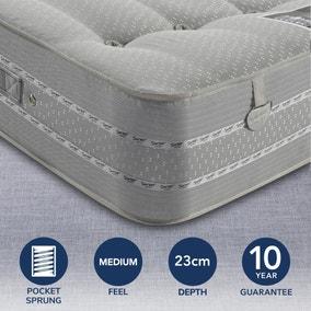 Pocketo Medium Firm 1500 Pocket Sprung Mattress