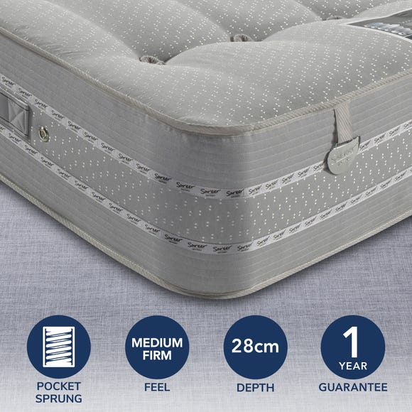 Pocketo 1500 Cool Blue Mattress Grey undefined