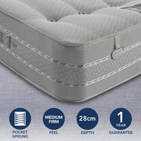 Pocketo 1500 Cool Blue Mattress