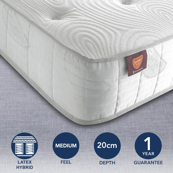 Sareer Matrah Latex Coil Mattress  undefined