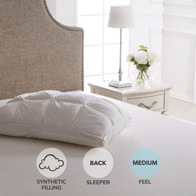 Dorma Luxuriously Deep Pintuck Pillow