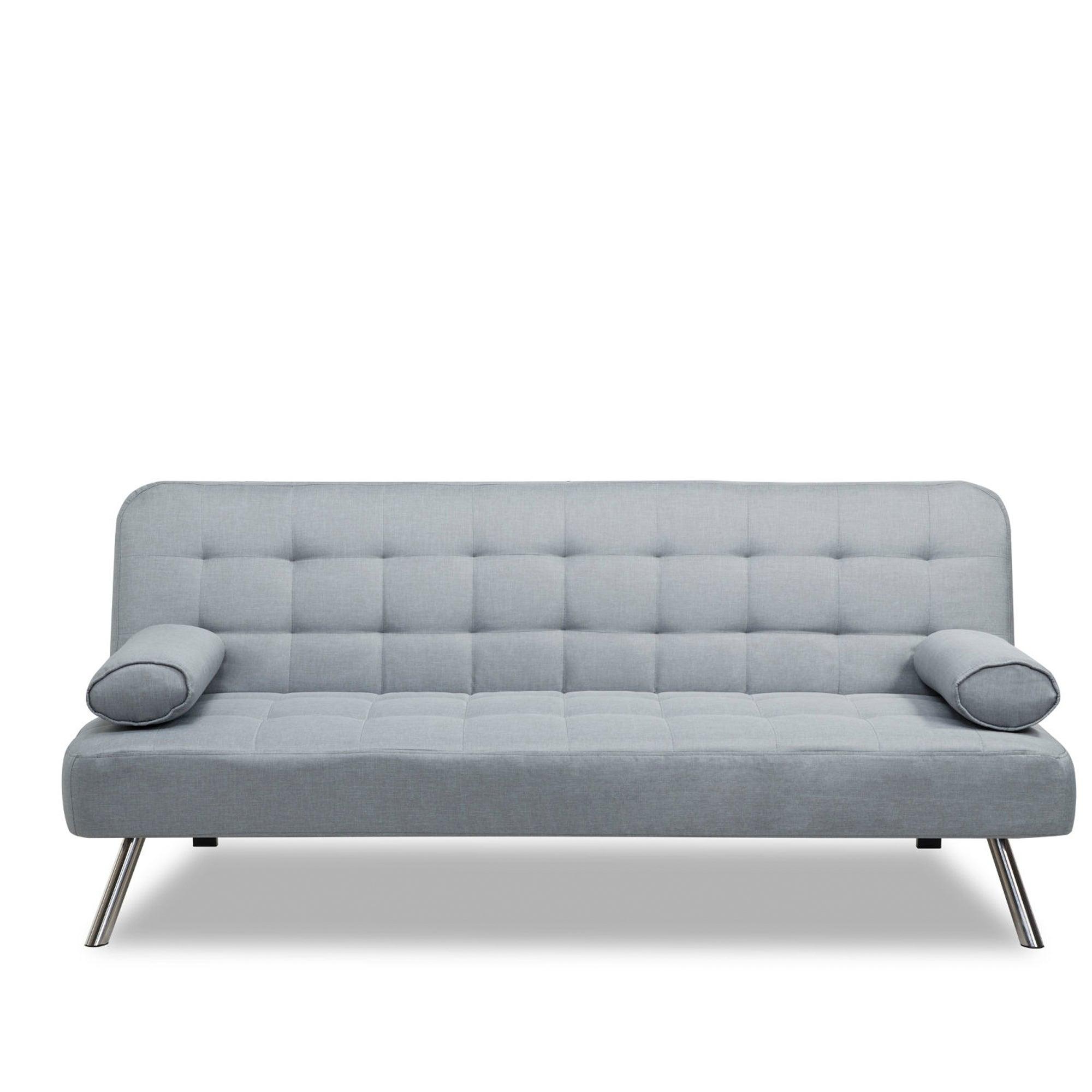 Tobi Fabric Sofa Bed Light Grey