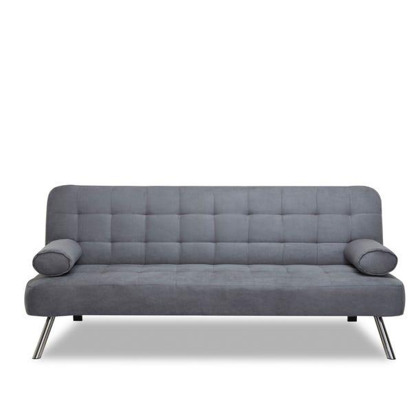 Tobi Fabric Sofa Bed Mid Grey