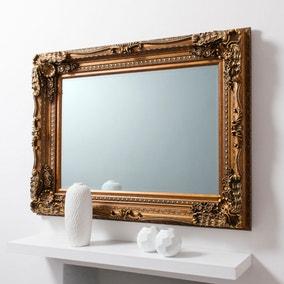 Louis Gold 120x90cm Wall Mirror