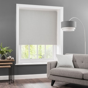Luna Grey Blackout Roller Blind