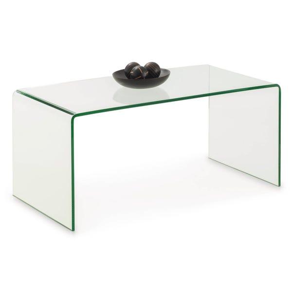 Amalfi Glass Coffee Table Clear