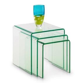 Amalfi Glass Nest of Tables