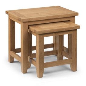 Astoria Oak Nest of Tables