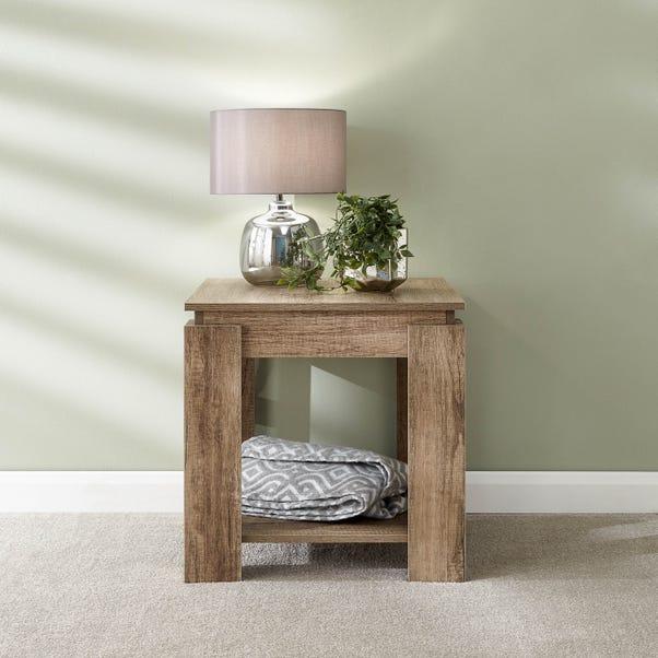 Canyon Oak Lamp Table Natural