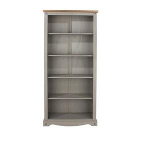 Corona Grey Tall Bookcase