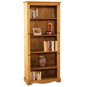 Corona Pine Tall Bookcase