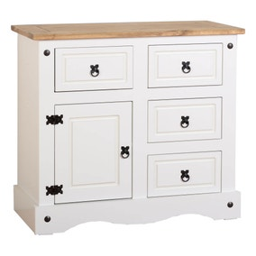 Corona Pine White Sideboard