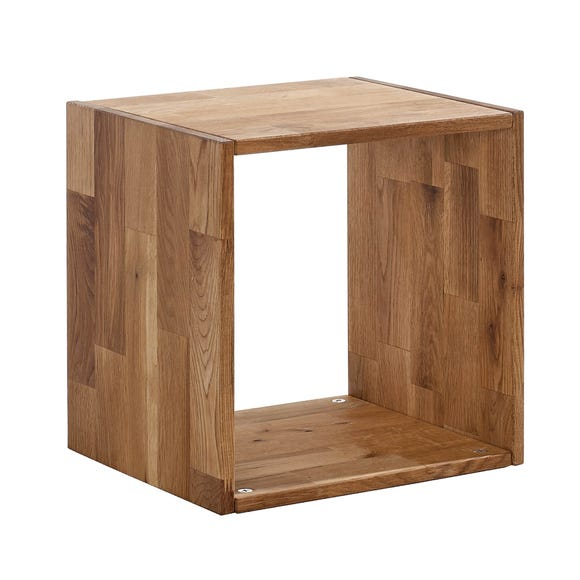 Maximo Oak Single Cube Brown