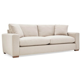 Porto Fabric 4 Seater Sofa