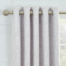 Dorma Winchester Grey Blackout Eyelet Curtains
