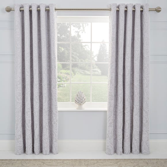 Dorma Winchester Grey Blackout Eyelet Curtains Grey undefined