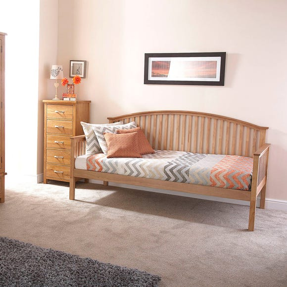 Madrid Oak Day Bed  undefined