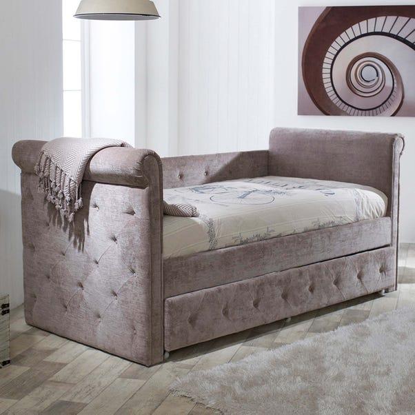 Zodiac Velvet Day Bed Mink undefined