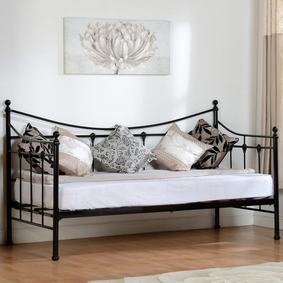 Torino Black Day Bed Black undefined