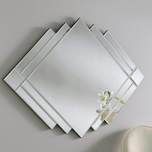 Yearn Art Deco Mirror 119x86cm Silver