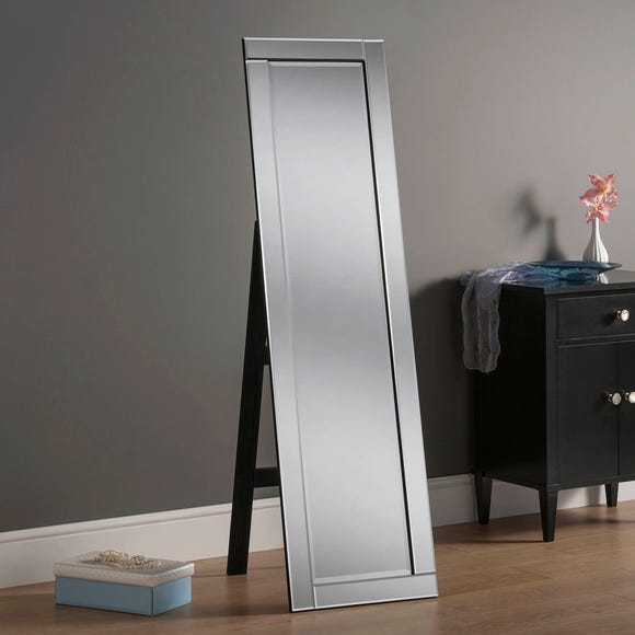 Yearn Full Length Cheval Mirror 41x152cm Silver