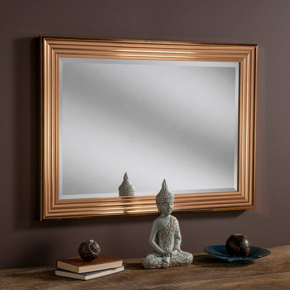Yearn Framed Mirror Copper Copper undefined