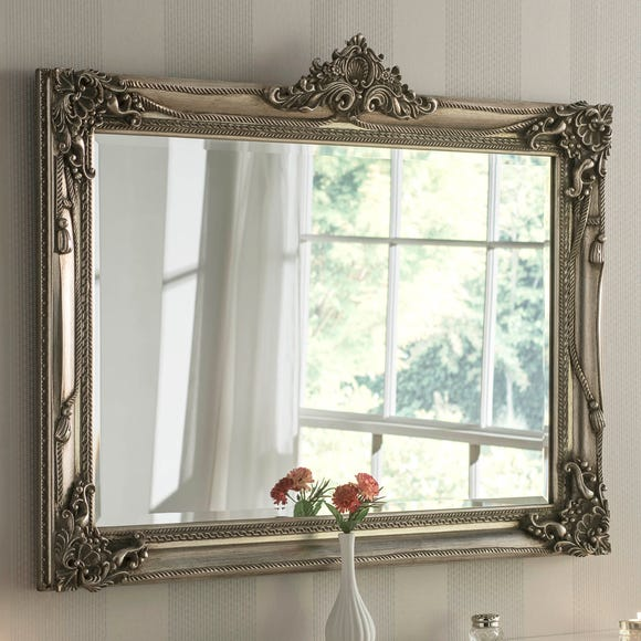 Yearn Baroque Mirror 107x86cm Silver Silver