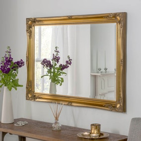 Yearn Baroque Leaner Mirror Gold