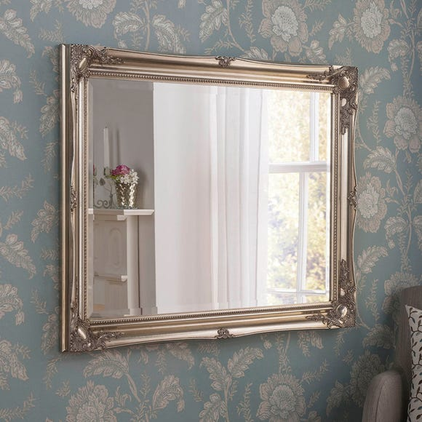 Yearn Baroque Mirror Silver Silver undefined