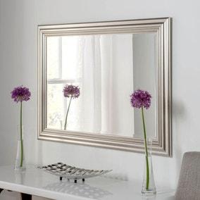 Yearn Framed Mirror Silver