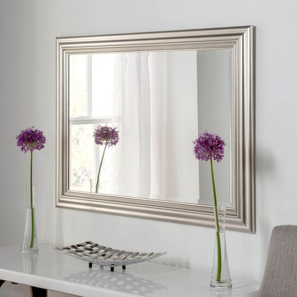 Yearn Framed Mirror Silver Silver undefined