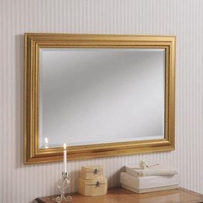 Yearn Framed Mirror Gold