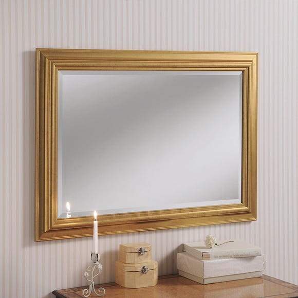 Yearn Framed Mirror Gold Gold undefined