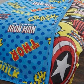 Disney Marvel Comics Fleece Blanket