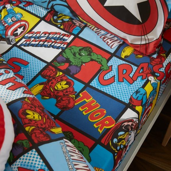 Disney Marvel Comics Fitted Sheet  undefined