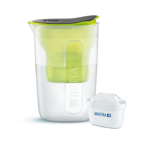 Brita Fun MAXTRA+ Lime Water Filter Jug Lime (Green)