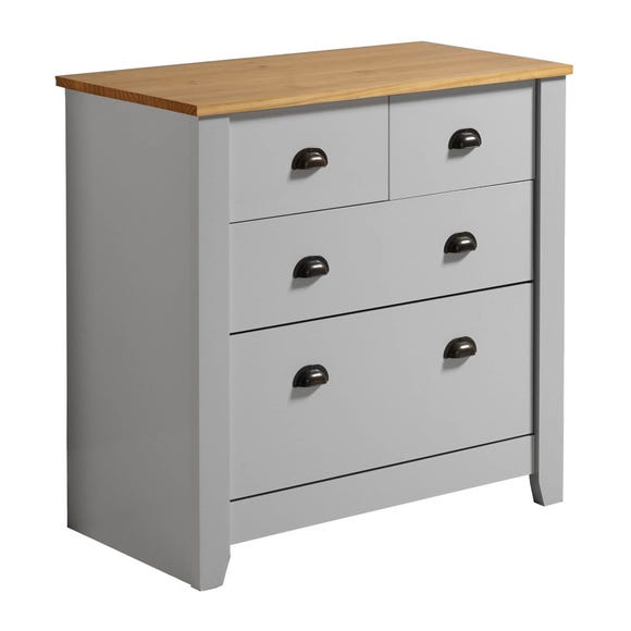Ludlow Grey Chest of Drawers Grey