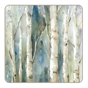 Pack Of Four Enchanted Forest Coasters