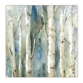 Set of 4 Enhanced Forest Placemats