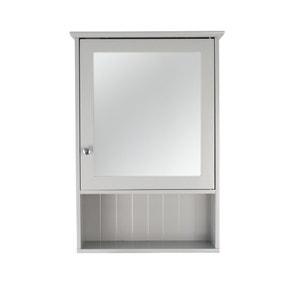 Rimini Grey Mirror Cabinet