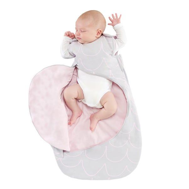 SnuzPouch Designz Rose Wave 2.5 Tog Sleeping Bag Pink undefined