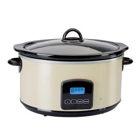 Dunelm Cream Slow Cooker 4.5L