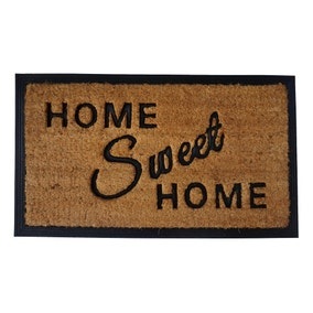 Natural Home Sweet Home Coir Doormat