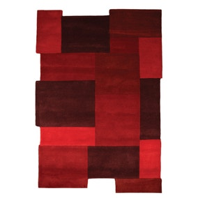 Abstract Collage Rug