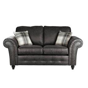 Oakland Faux Leather 2 Seater Sofa