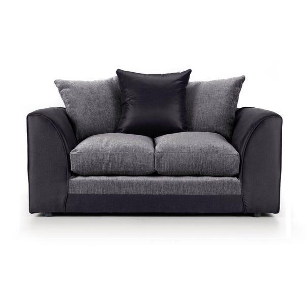 Denver 2 Seater Sofa Bed Black