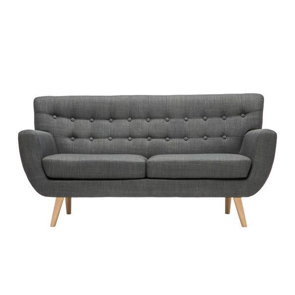 Loft Grey 3 Seater Sofa Grey