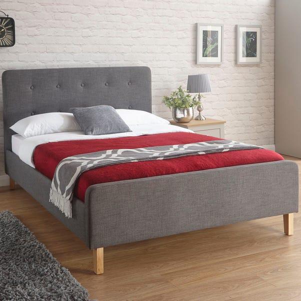 Ashbourne Fabric Bed Frame Grey undefined