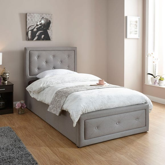 Hollywood Fabric Ottoman Bed  undefined